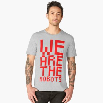 'We Are the Robots | Krafrwerk' Men's Premium T-Shirt by hypnotzd