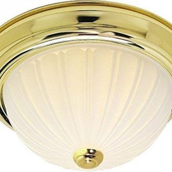 "Nuvo 76-126 - 13"" Close-To-Ceiling Flush Mount Ceiling Light"