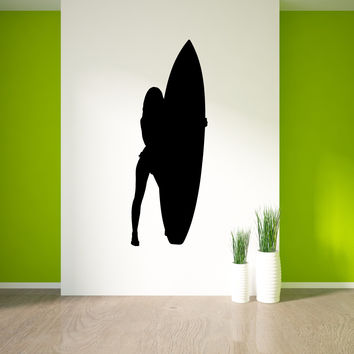 Surf Surfing Wall Decal Sticker 21