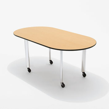 Knoll Joseph D'Urso - Racetrack Table Low