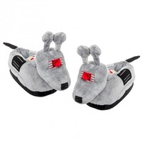 Doctor Who Grey K-9 Slippers (S/M)