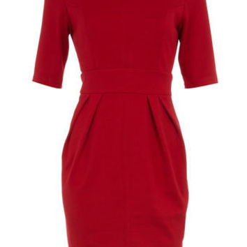 Petite red pencil dress - Sale & Offers - Dorothy Perkins