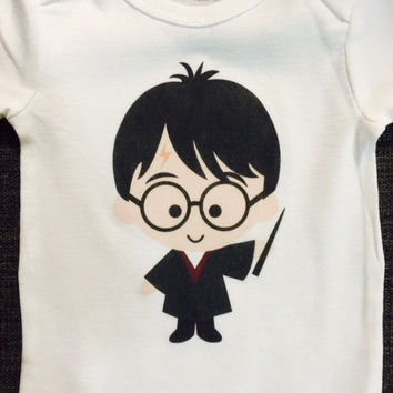 Harry Potter Baby Onesuit or Toddler Tee