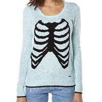 BAD TODA STONE WOMENS SWEATER BY VOLCOM IN JADE