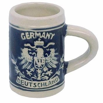 Deutschland Ceramic Beer Stein Shot Glass