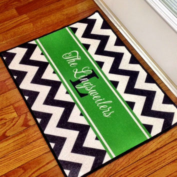 Personalized Door Mat by rrpage on Etsy