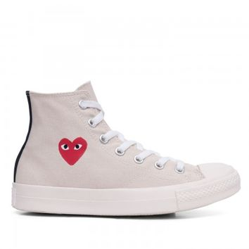Play Converse All Star High (White) | Play CDG x Converse | SNEAKER SPACE