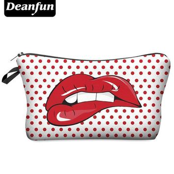 ICIKHG7 Deanfun Fashion Brand Cosmetic Bag 2017 Hot-selling Women Travel Makeup Case H14