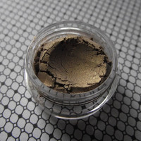 In the Pokey - Country Goth Collection - Dark Muted Gold Metal Shimmer Eyeshadow Wiccan Witch Gothic Goth Pagan - Pastel Goth - Creepy Cute