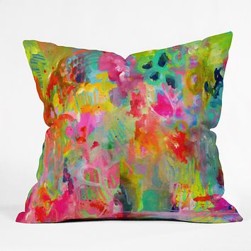 Stephanie Corfee hot mess Outdoor Throw Pillow