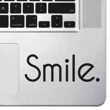 Smile Macbook Pro Air Keyboard Sticker Smiley Face Sticker Laptop Love Sticker