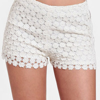 Elle Crocheted Shorts By Black Sheep
