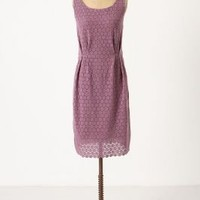 Gathered Lace Dress - Anthropologie.com