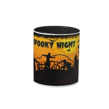 Spooky Night Two-Tone Mug