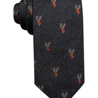 Tasso Elba Stag Novelty Tie, Only at Macy's - Sale & Clearance - Men - Macy's