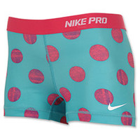 "Women's Nike Pro Core 2.5"" Print Running Shorts"