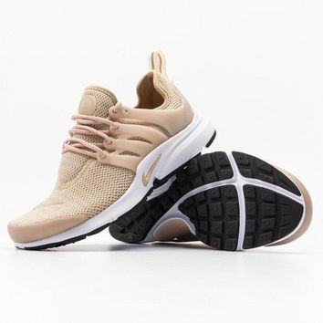 spbest Nike Womens Air Presto (Linen / White / Black)