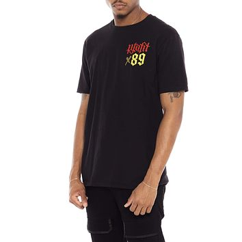 All We Ask Tee Black Freehand Profit Collab