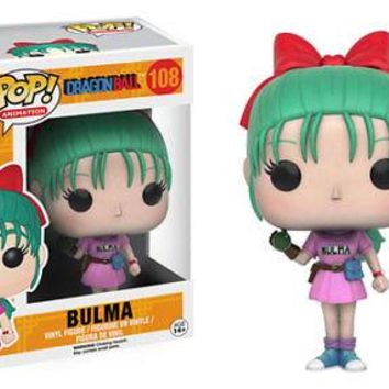 Funko Pop Animation: Dragon Ball - Bulma Vinyl Figure
