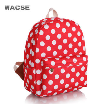 Casual Stylish Canvas Korean Fashion Backpack = 4888049092