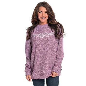 Women's Vino Heather Loop Knit Terry Pullover
