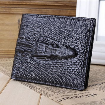 Mens ID Credit Card Holder Unique wallet Bifold Purse Clutch Pockets Fashion