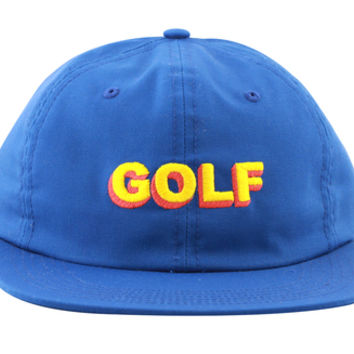 7144cae56d26e2 3D GOLF POLO STRAPBACK BLUE from Golfwang