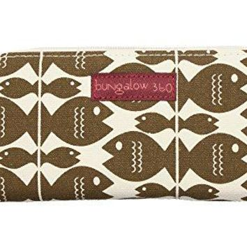 Bungalow 360 Zip Around Wallet