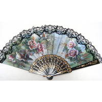 Best Selling Spanish style Hand Fan Decorative Design