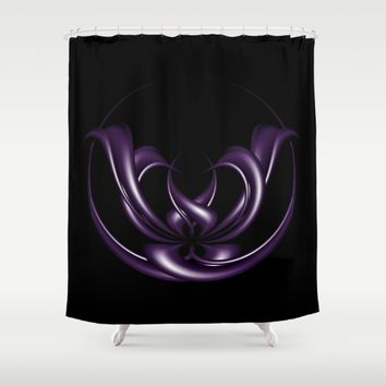 Circle of life Shower Curtain by VanessaGF