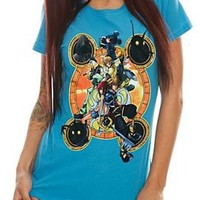 Disney Kingdom Hearts Stacked Girls T-Shirt - 387430