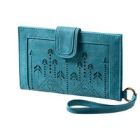 Mossimo Supply Co. Turquoise La Paz Wristlet