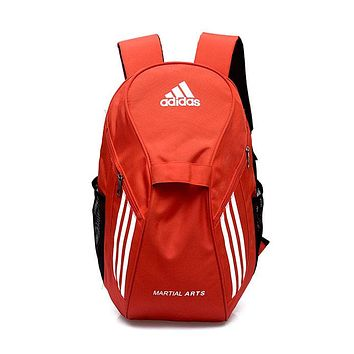 """Adidas"" Popular Women Men Casual Athletic Bag Laptop Bag Shoulder Bag School Backpack Sport Travel Bag Blue I-ZZZS"