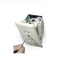 Hidden Fake Wall Outlet Safe by BeWild
