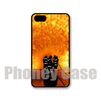 Iphone 5 or 5s Firefighters Personalized Cell Phone Case #102