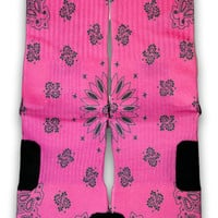 South Beach Bandana Custom Elite Socks