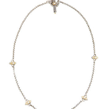 Konstantino Amphitrite Freshwater Pearl Station Necklace