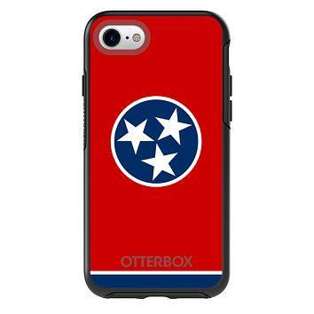DistinctInk™ OtterBox Symmetry Series Case for Apple iPhone / Samsung Galaxy / Google Pixel - Tennessee State Flag