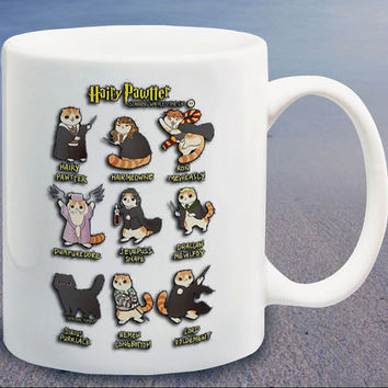 Harry Pawter Parody logo parody logo custom mug,coffee mug,tea mug,cup mug