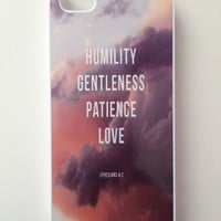 Ephesians 4:2 iPhone Case