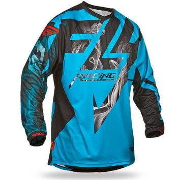 bike Motocicleta de motocross DH MX downhill bike long sleeve riding gear ATV Team cycling racing Jersey Off-road moto cycle shi