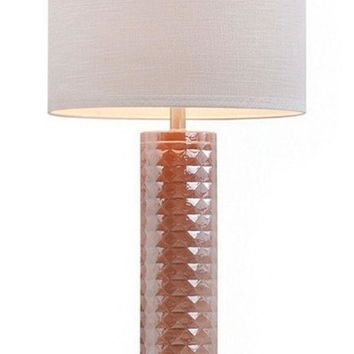 DCCK8BW JALEXANDER FACETED GLASS TABLE LAMP