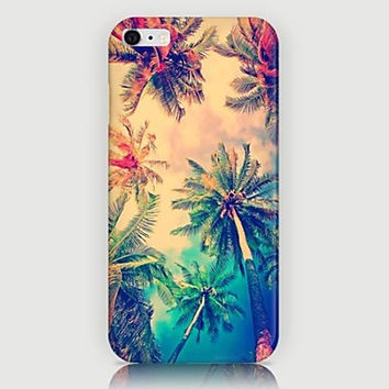 Coconut Palm Pattern Back Case for iPhone 6 Plus