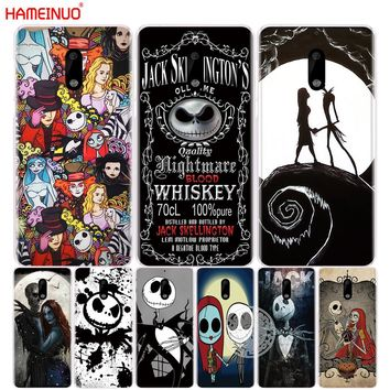 HAMEINUO Jack&Sally Nightmare Before Christmas cover phone case for Nokia 9 8 7 6 5 3  Lumia 630 640 640XL 2018