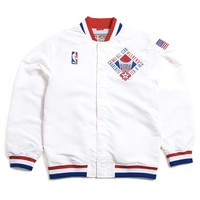 NBA All Star 1991 Authentic Warm Up Jacket White