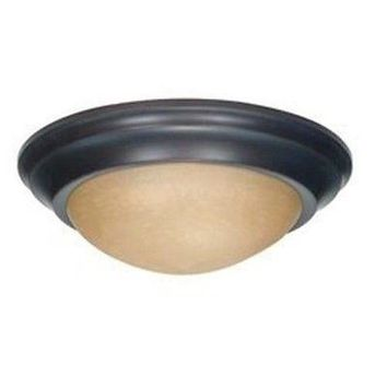 Nuvo 60-3135 - Twist & Lock Dome Small Flush Mount Ceiling Light