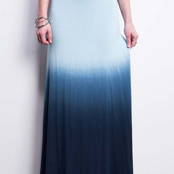 Coastal Ombre Maxi Skirt