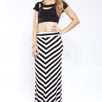 Out of Line Maxi Skirt