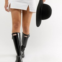 Hunter Original Tour Gloss Wellington Boot at asos.com