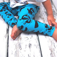 Unisex Monster leggings, boys leggings, baby clothes, girls clothing, baby boy clothes,  baby trousers, newborn baby clothes, baby leggings